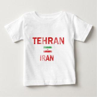 Flag of Tehran Iran designs Baby T-Shirt