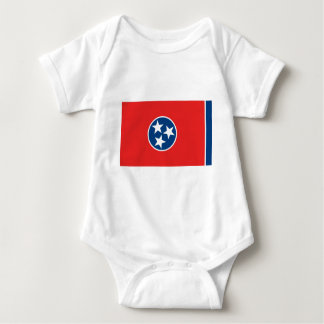 Flag of Tennessee Baby Bodysuit
