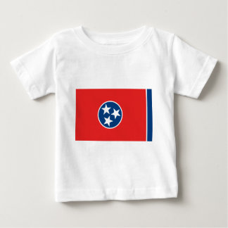 Flag of Tennessee Baby T-Shirt