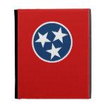Flag of Tennessee iPad Folio Cases