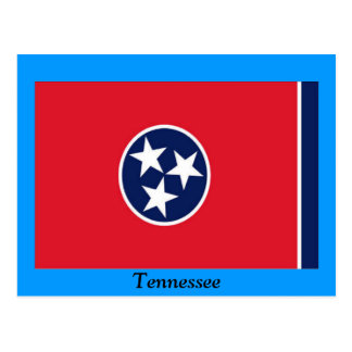 Flag of Tennessee Postcard