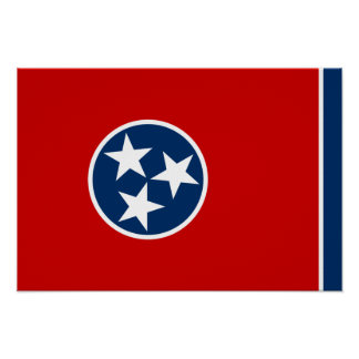 Flag of Tennessee Poster