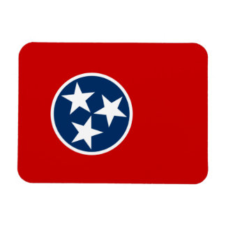 Flag of Tennessee Rectangular Photo Magnet