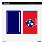 Flag of Tennessee Skin For Kindle Fire