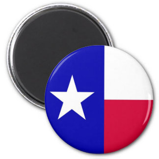 Flag of Texas 2 Inch Round Magnet