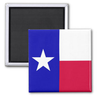 Flag of Texas 2 Inch Square Magnet