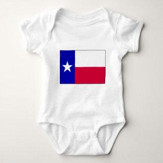 Flag of Texas Baby Bodysuit