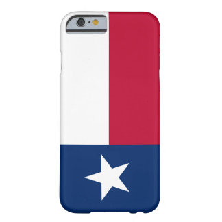 Flag of Texas Barely There iPhone 6 Case