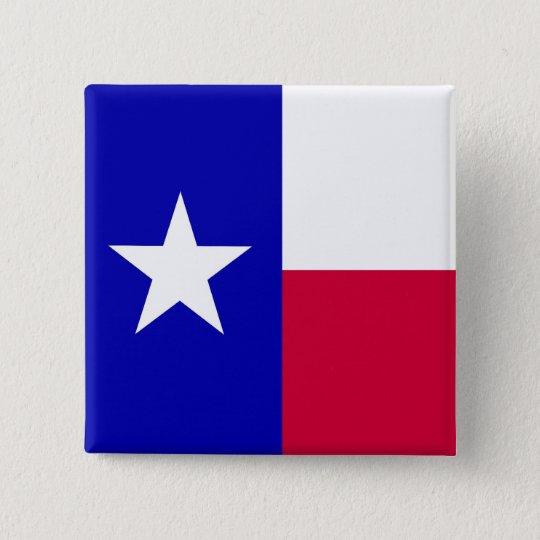 Flag of Texas Button