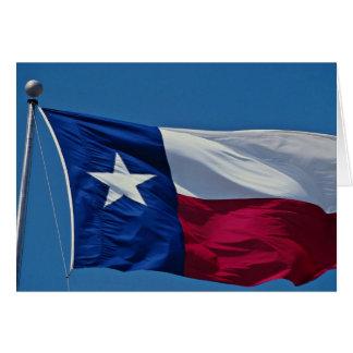 Flag of Texas Card