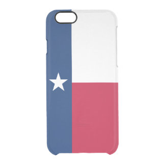 Flag of Texas Clear iPhone Case