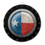 Flag of Texas Disc Dart Boards