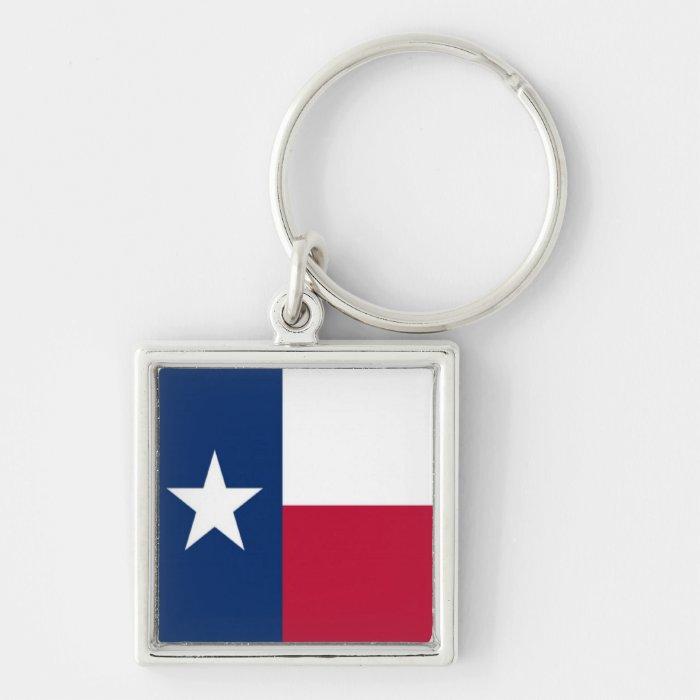 Flag of Texas Keychain