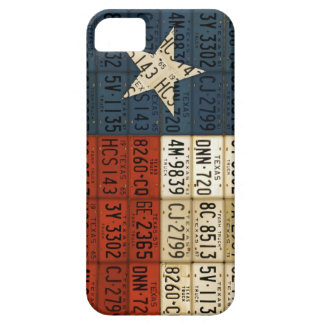 Flag of Texas Lone Star State License Plate Art iPhone SE/5/5s Case