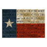 Flag of Texas Lone Star State License Plate Art Print