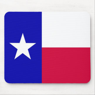 Flag of Texas Mouse Pad