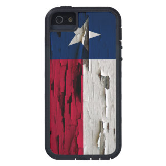 Flag of Texas Paint Peel Case For iPhone SE/5/5s