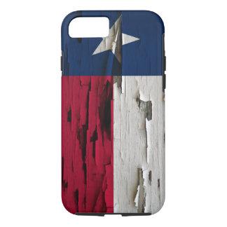 Flag of Texas Paint Peel Look iPhone 7 Case