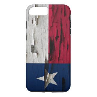 Flag of Texas Paint Peel Look iPhone 7 Plus Case