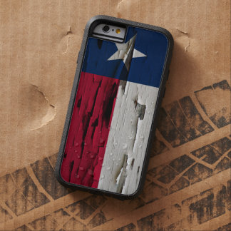 Flag of Texas Paint Peel Look Tough Xtreme iPhone 6 Case