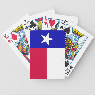 Flag of Texas Playing Cards