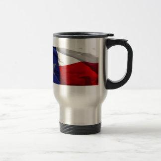 Flag of Texas Pop Art 15 Oz Stainless Steel Travel Mug