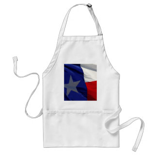 Flag of Texas Pop Art Adult Apron