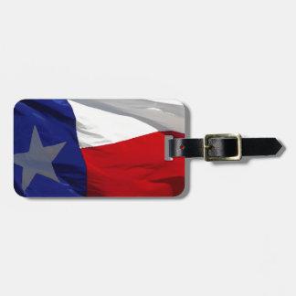 Flag of Texas Pop Art Bag Tag
