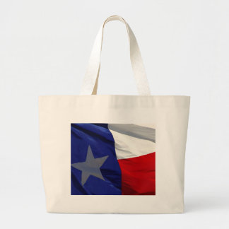 Flag of Texas Pop Art Large Tote Bag