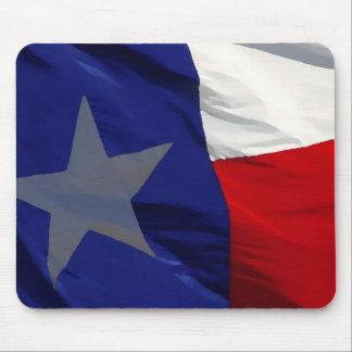 Flag of Texas Pop Art Mouse Pad