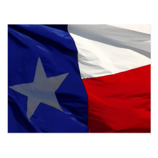 Flag of Texas Pop Art Postcard