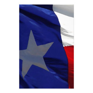 Flag of Texas Pop Art Stationery