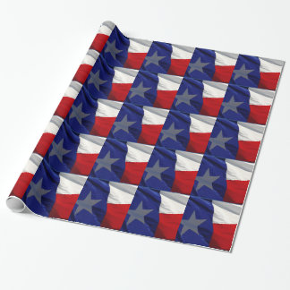 Flag of Texas Pop Art Wrapping Paper