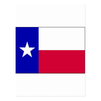Flag of Texas Postcard