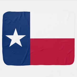 Flag of Texas Swaddle Blanket