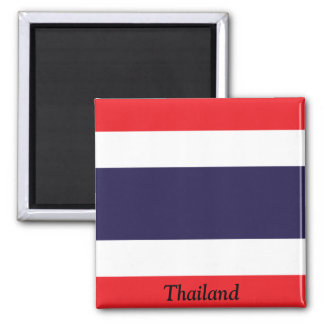 Flag of Thailand 2 Inch Square Magnet