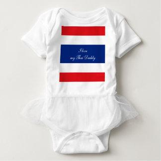 Flag of Thailand Baby Bodysuit