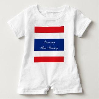 Flag of Thailand Baby Romper