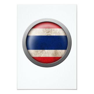 "Flag of Thailand Disc 3.5"" X 5"" Invitation Card"