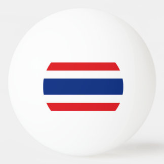 Flag of Thailand Ping Pong Ball