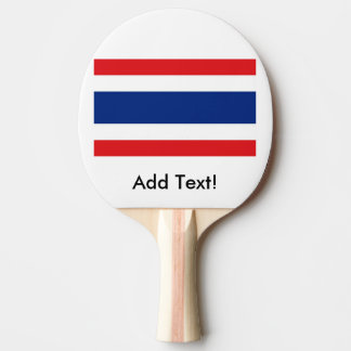 Flag of Thailand Ping-Pong Paddle