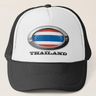 Flag of Thailand in Steel Frame Trucker Hat