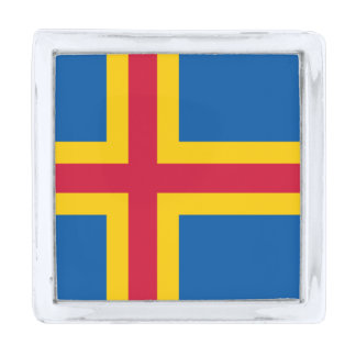 Flag of the Aland Islands Lapel Pin