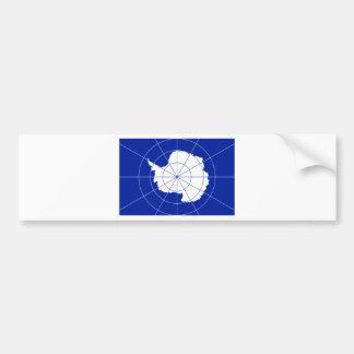 Flag of the Antarctic Treaty Car Bumper Sticker