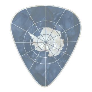 Flag of the Antarctic Treaty Guitar Picks