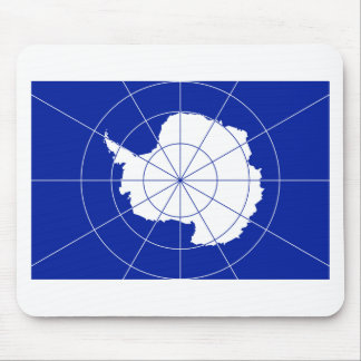 Flag of the Antarctic Treaty Mouse Pad