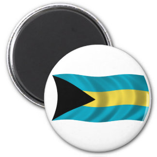 Flag of the Bahamas 2 Inch Round Magnet