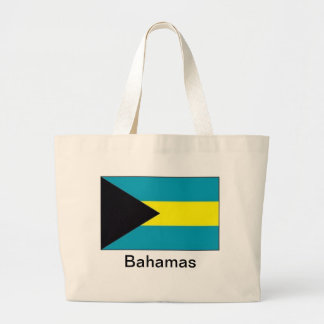 Flag of the Bahamas Tote Bags