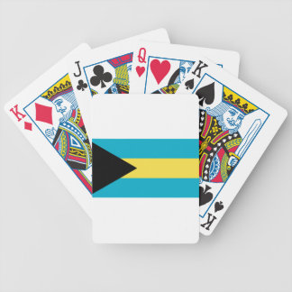 Flag_of_the_Bahamas Bicycle Playing Cards