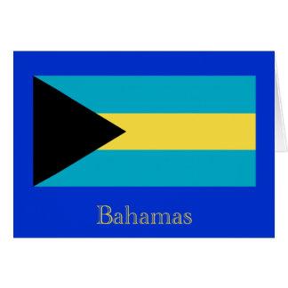 Flag of the Bahamas Greeting Card